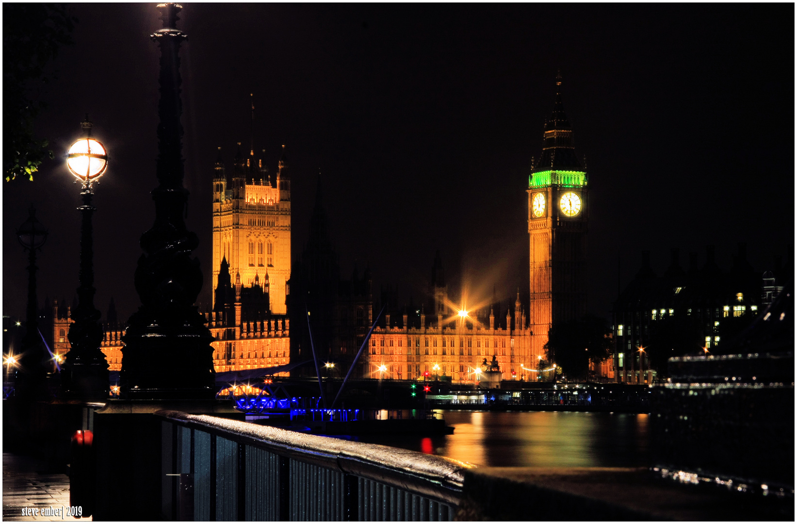 London by Night - View from The Queen's Walk