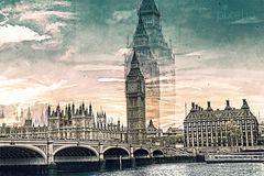 london city - an artistic composition