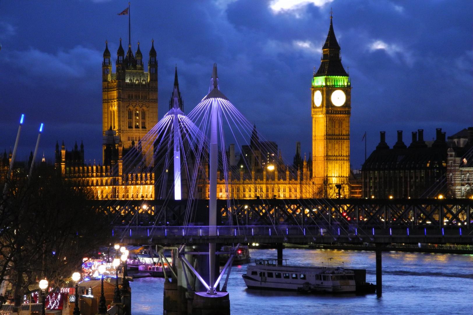 London elithebeth Tower Big Ben