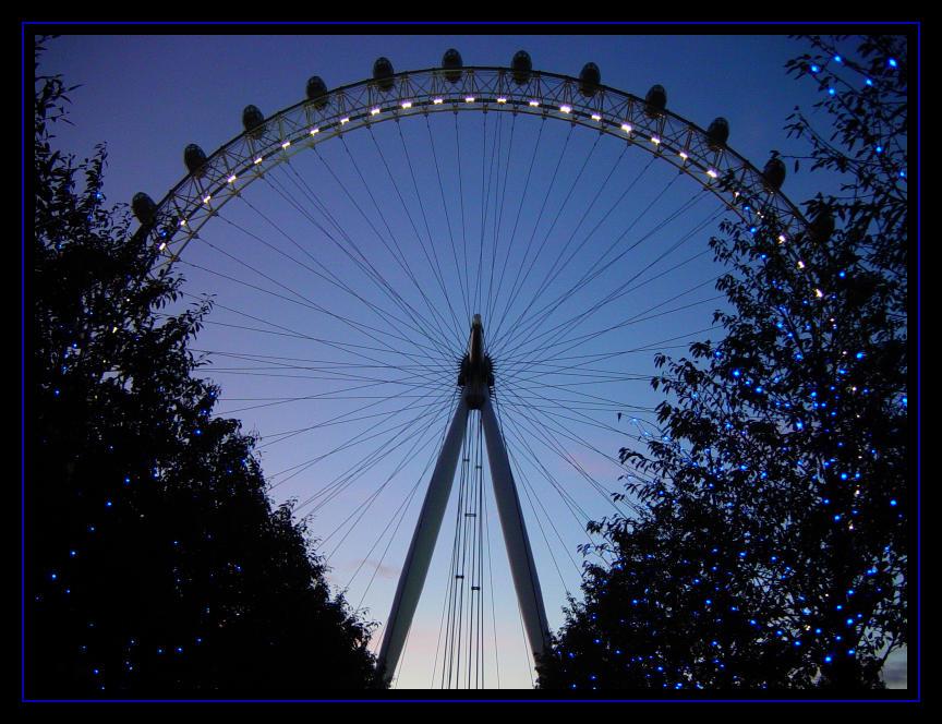 London Eye at X-mas