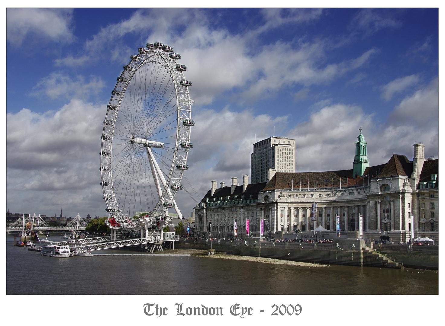 London Eye Daytime