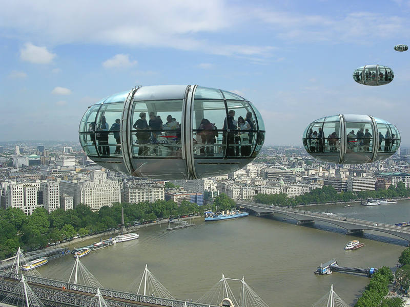 London eye flight