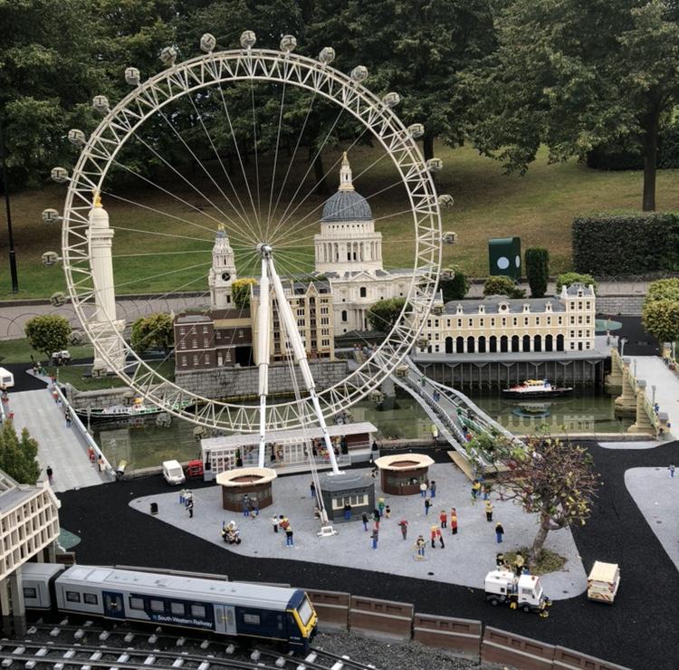 London Eye im praktischen Format