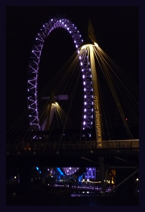 London Eye - light impressions