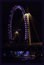 London Eye - light impressions