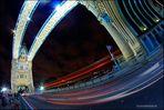 London Fisheye Tower Bridge
