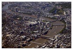 London from above - London aus der Luft