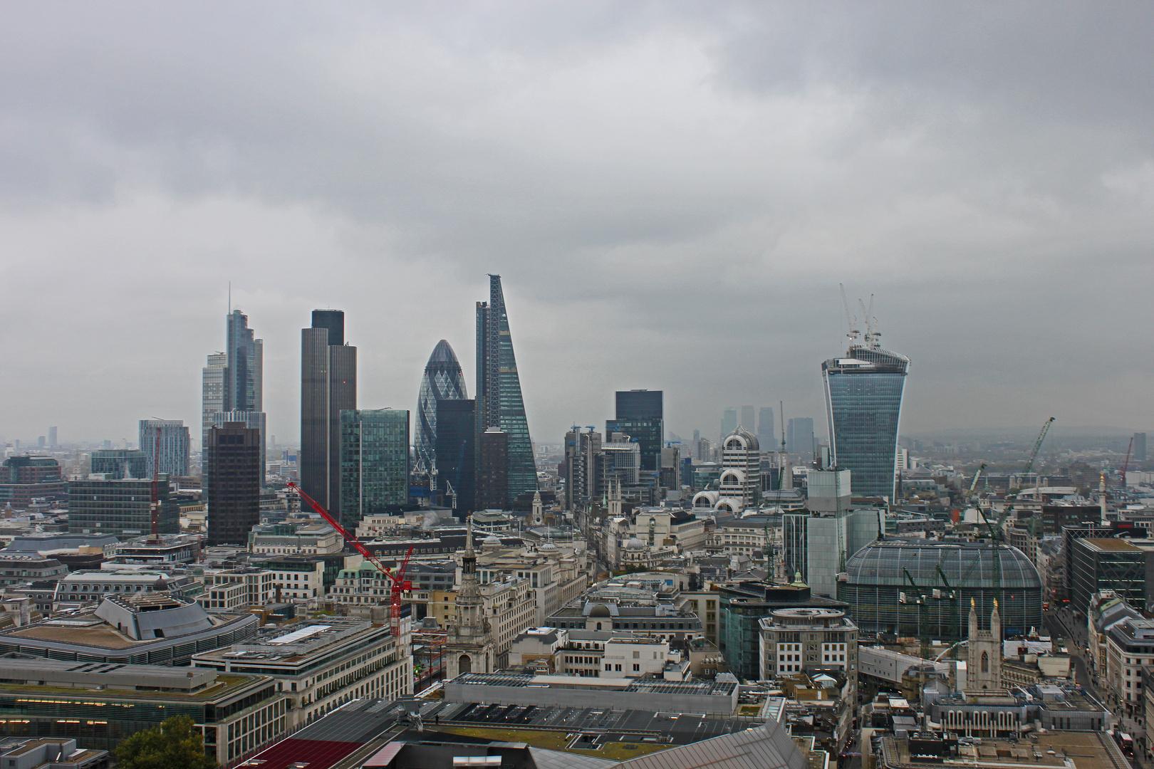 London im Nebel