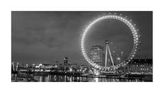 [london - london eye bw]