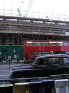 London, News + Taxi + Bus