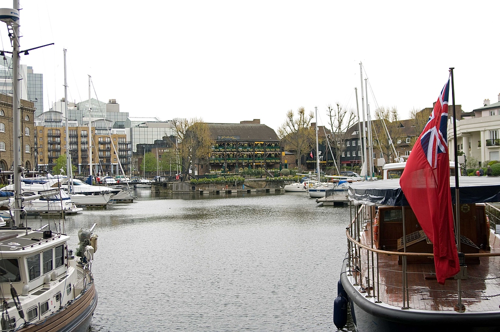 London Ostern 2009 [Bild 05] St Katharine Docks