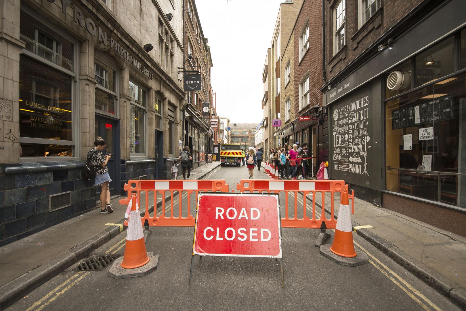 London - Soho - Peter street