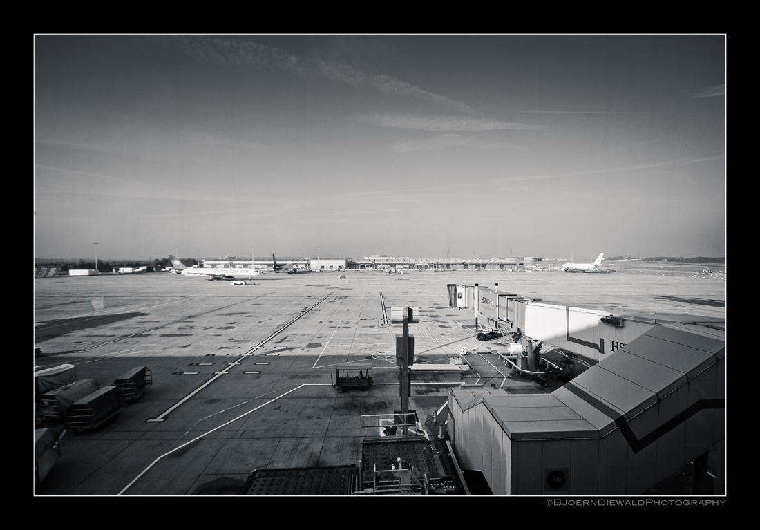 London Stansted Airport - Rollfeld