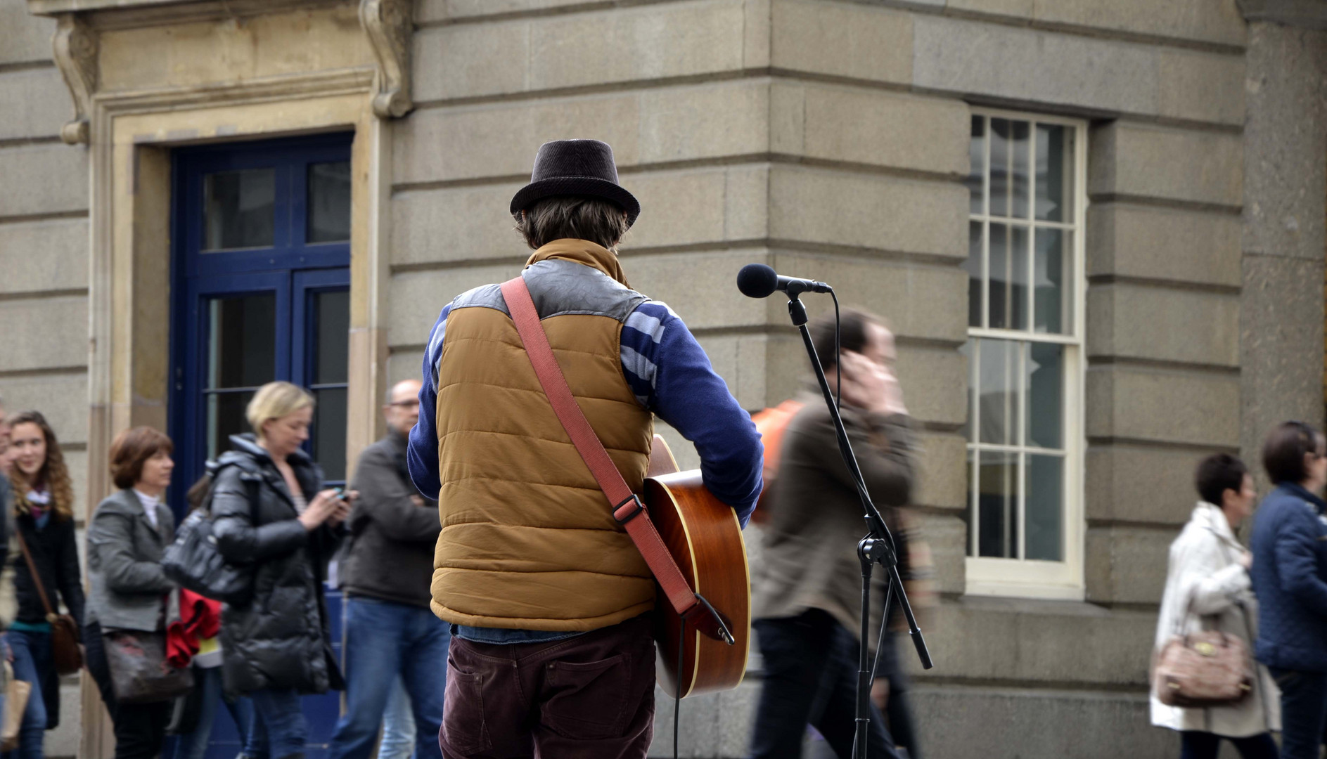 London - street musician
