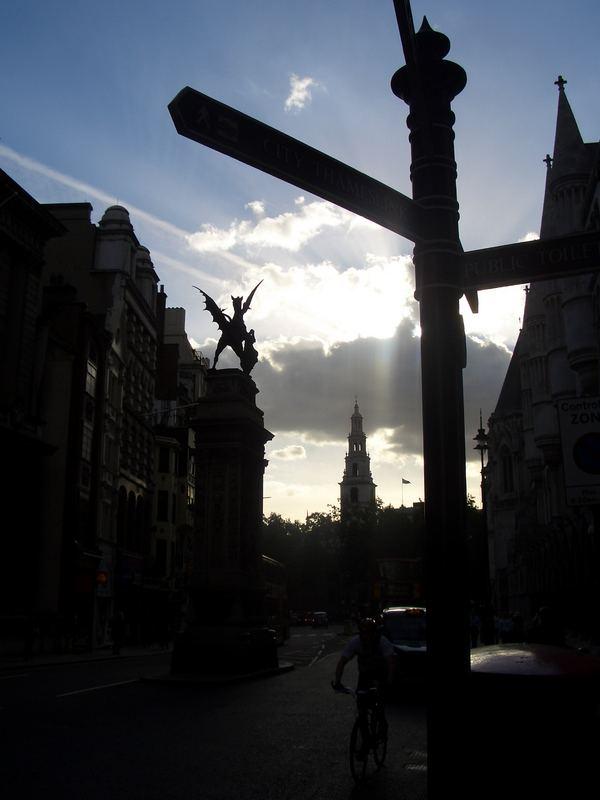 London...& The Sun...
