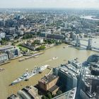 London - View from the Shard - Tower Bridge-HMS Belfast - 03
