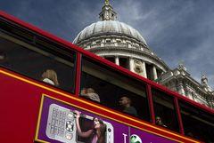 London views one oder Menschen im Bus