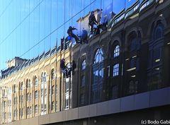 Londoner Fensterputzer