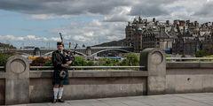 Lone Piper of Edinburgh