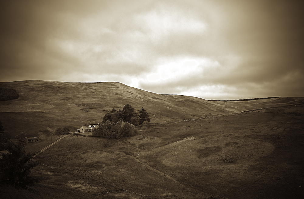 Lonely Farm in Galloway