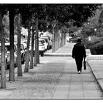 lonesome walking man