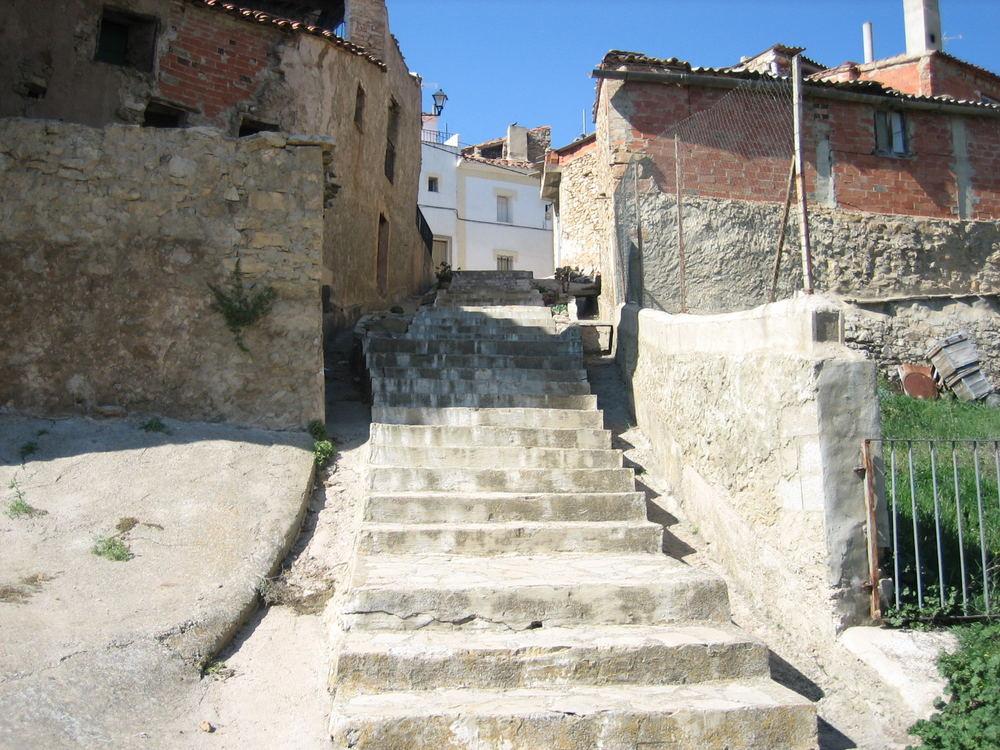 Long stair