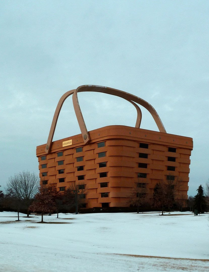 Longaberger Basket Building, Newark, Ohio