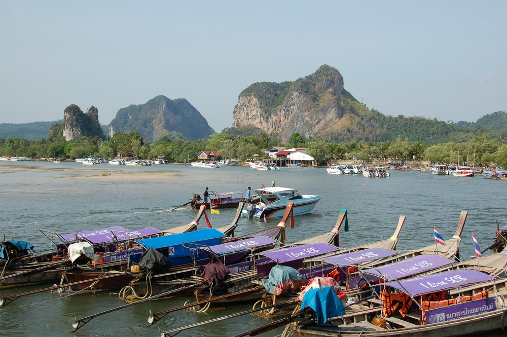 Longtailboote Krabi
