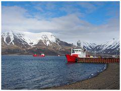 Longyearbyen - Hafen