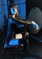 LOOK blaues Portrait Ca-28  exStartfoto