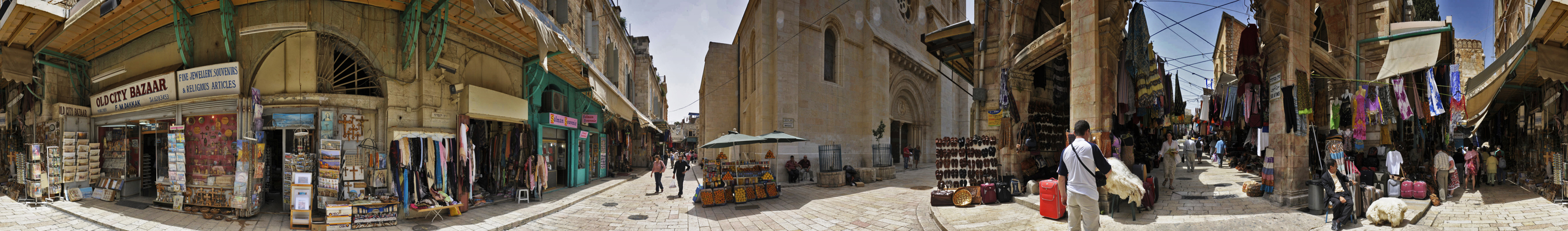 Looking around in JERUSALEM (Pano)...