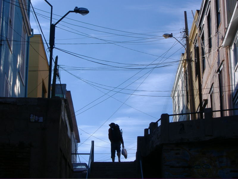 looking for a hostel in valparaiso