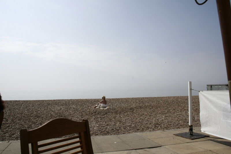 looking for the sea in brighton...