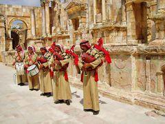 l'orchestre dans le théâtre de JERASH