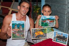 Lorenzo and his son Lionel