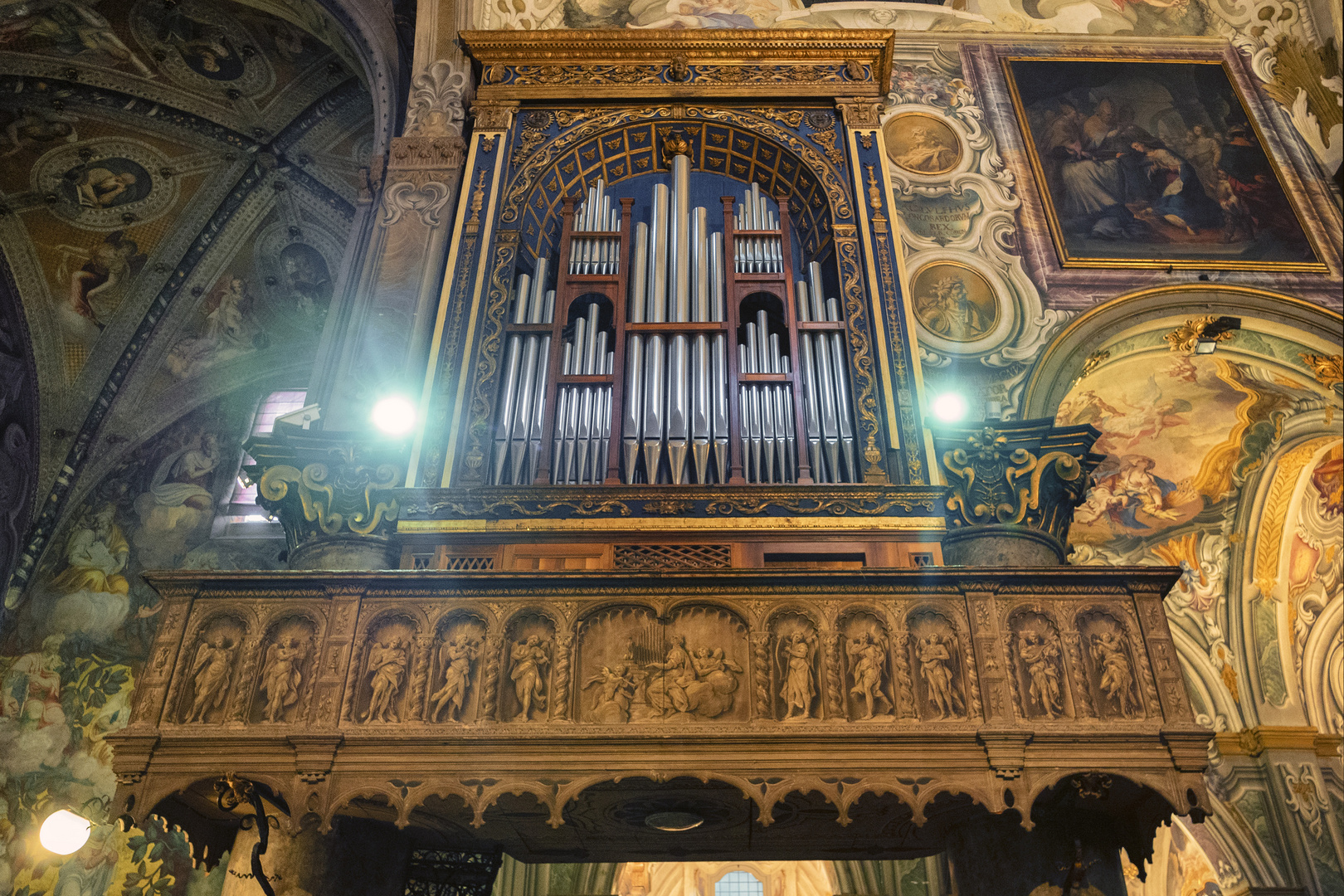 L'organo del Duomo di Monza