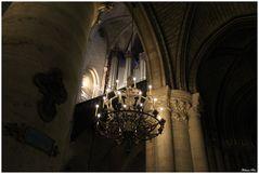 L'orgue à travers la lumière
