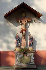 Lorsch - kath. Pfarrkirche, Kreuzigungsgruppe