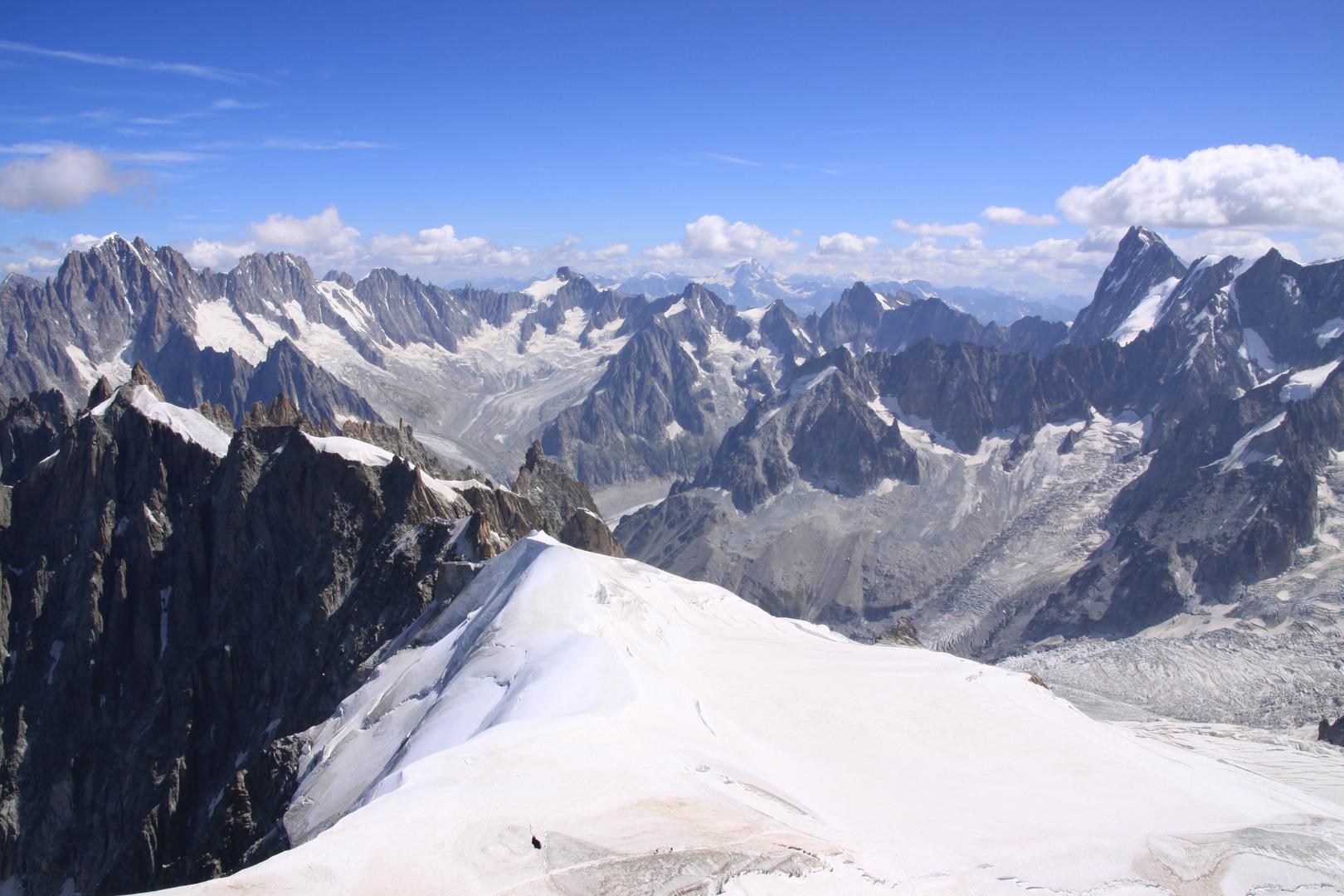 Los Alpes vistos desde Chamonix Mont Blanc