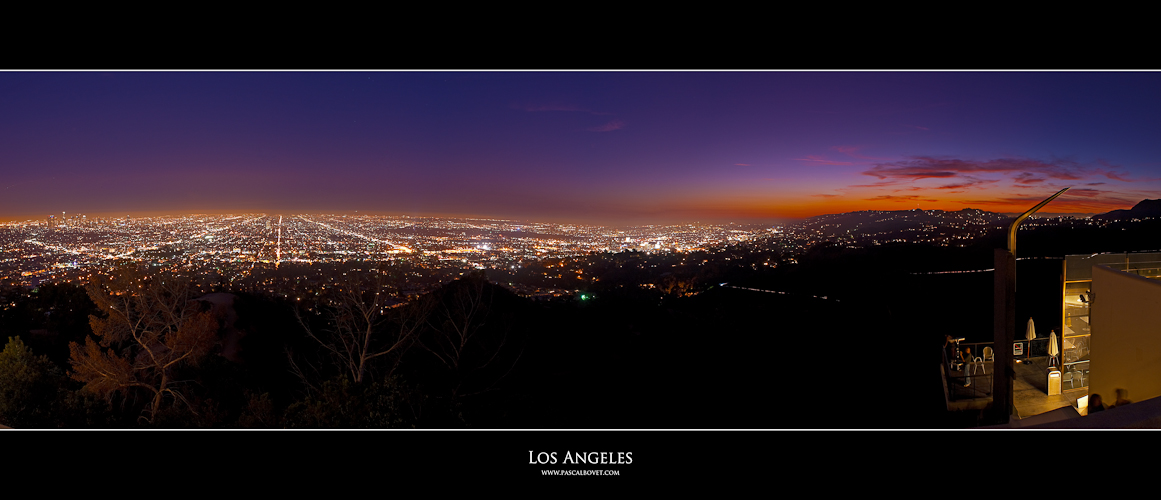 Los Angeles Sunset Panorama
