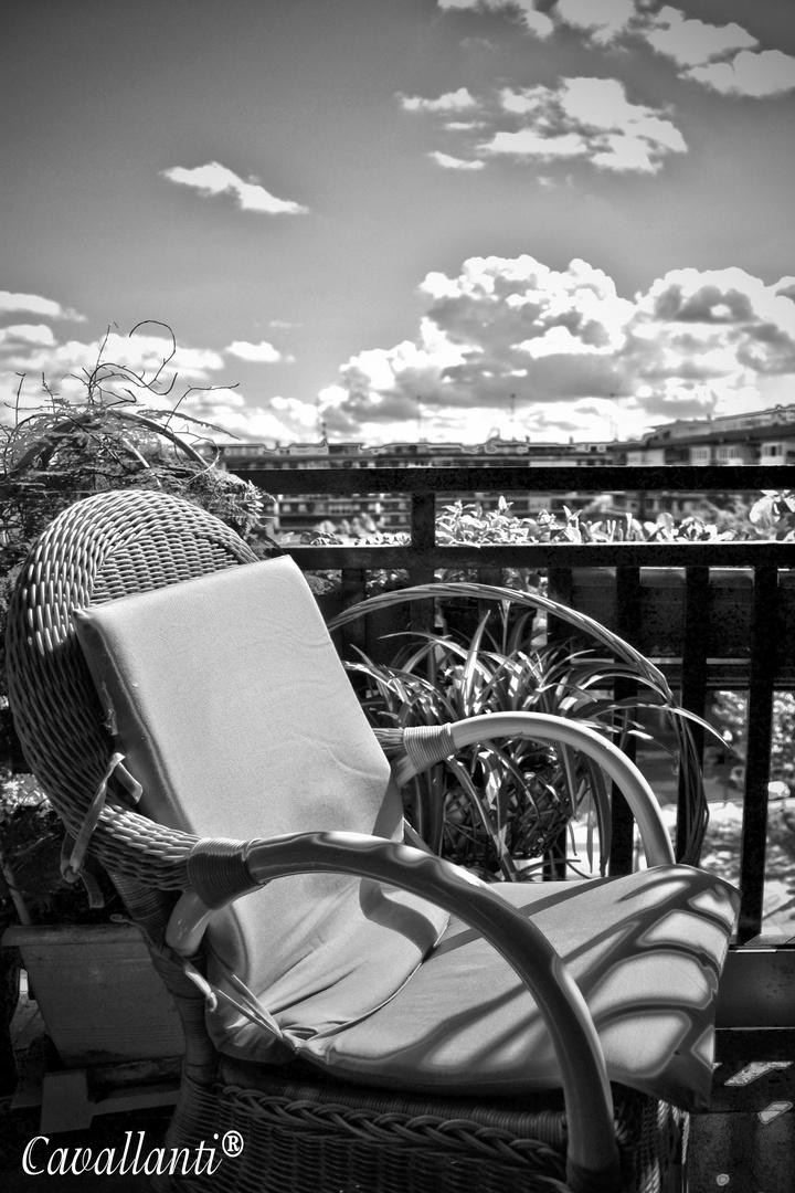 Los buenos dias desde mi terracita