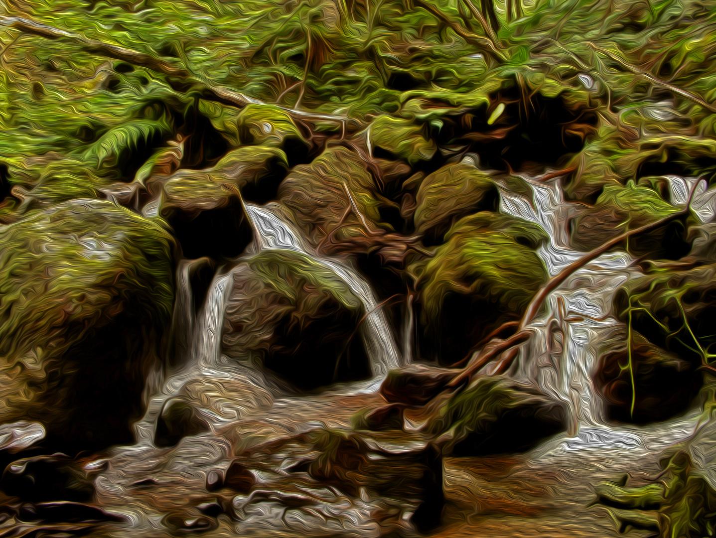 Los cabellos del bosque