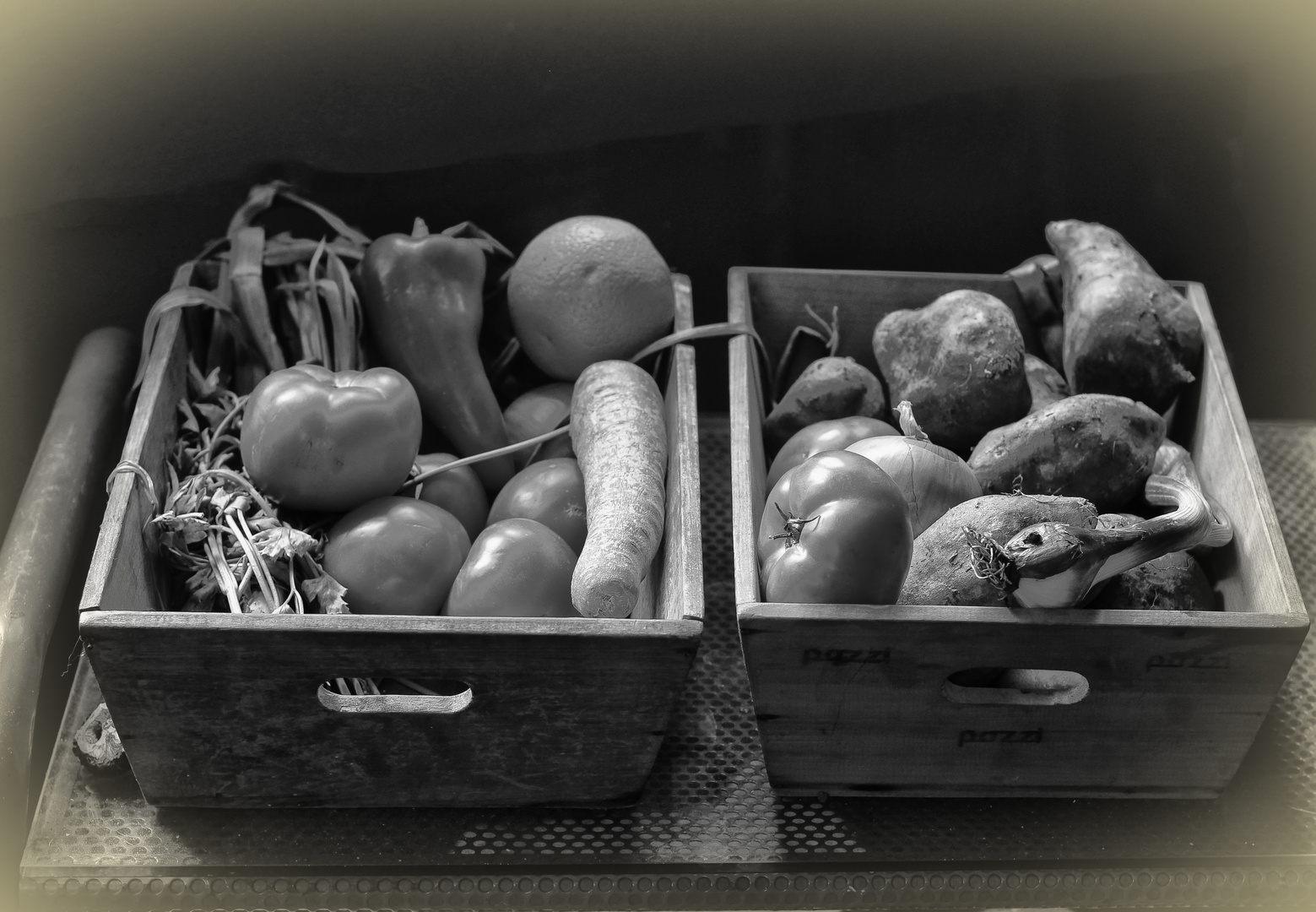 Los cajones de verdura
