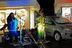 'Los Incas' Cover Duo auf dem Weihnachtsmarkt in Leer (Ostfriesland)