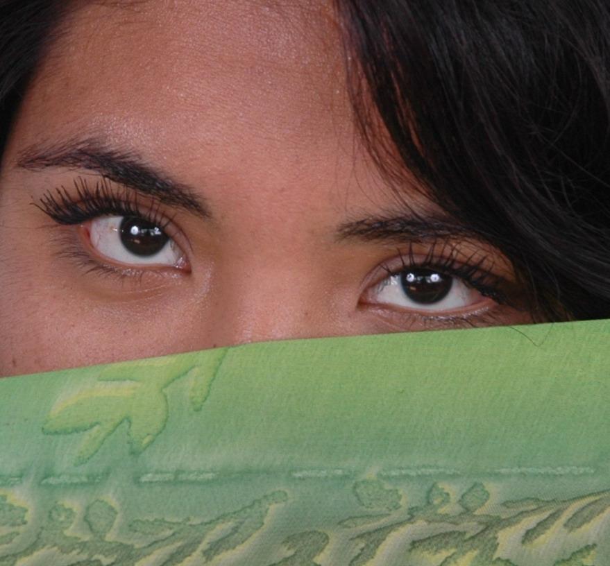 los ojazos de mi amiga la werita