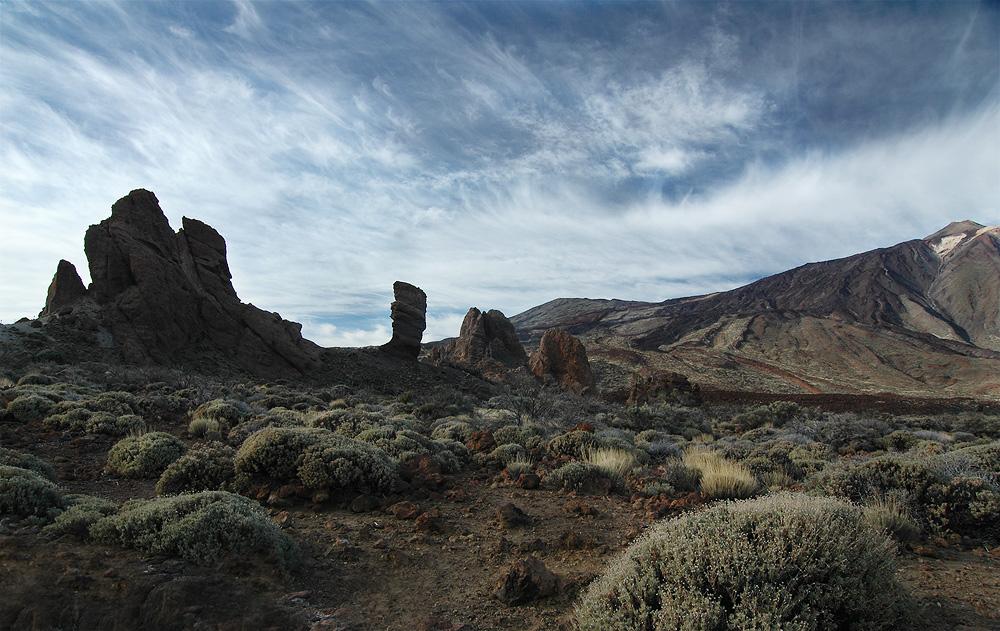 Los Roques de Garcia mit Teide