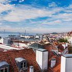 Los tejados de Lisboa