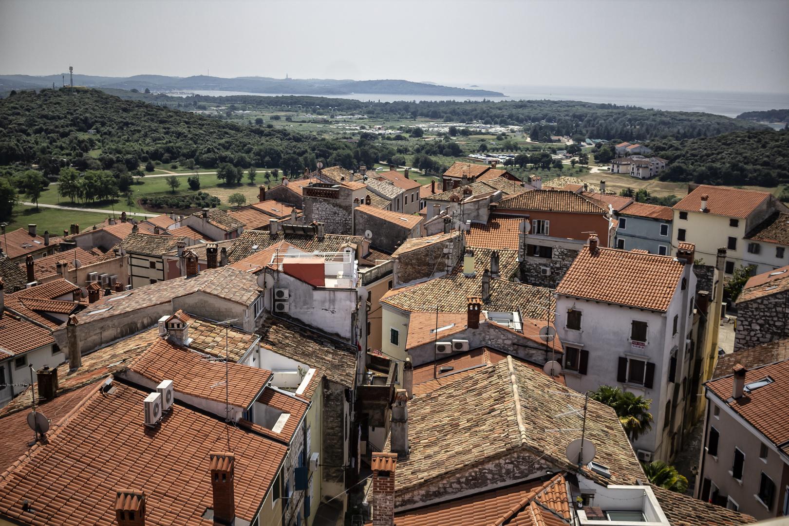 Los tejados de Vrsar