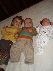Los tres Primitos juntos