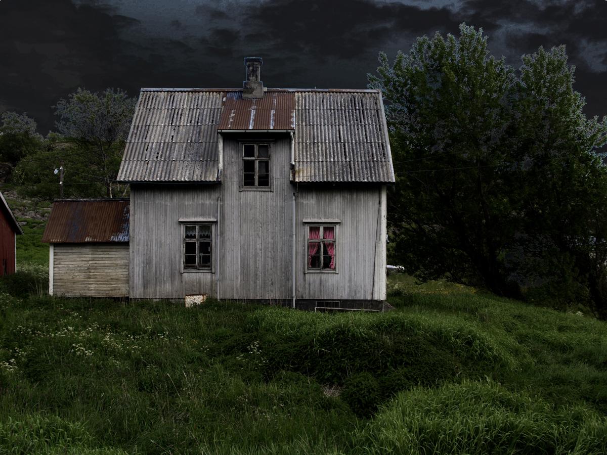 Lost farm house, Aarsteinen, Vesteraalen